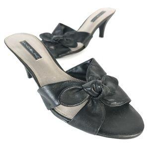 Bandolino leather mules
